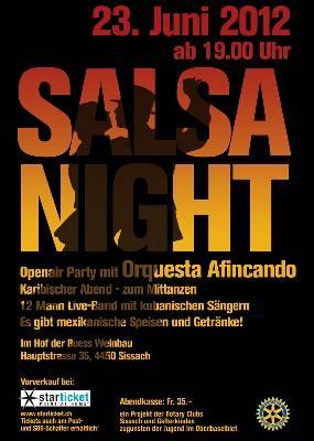 Salsa Night in Sissach